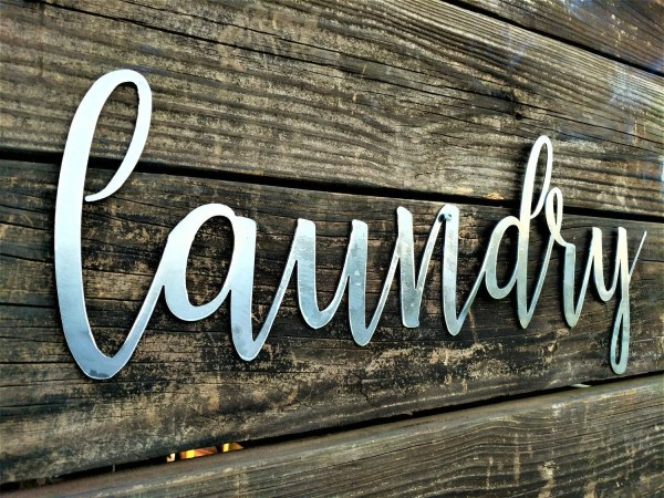 Laundry Sign Room Decor Farmhouse