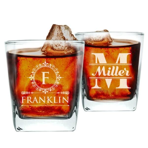 Custom Engraved Whiskey Glasses