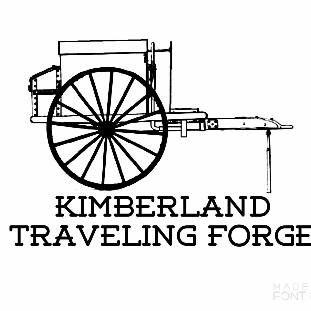 The Kimberland Traveling Forge Hand Forged By