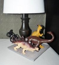 SALE Dinosaur Table Lamp Unique Kids Bedroom Teens