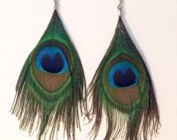 Feather earrings   Etsy