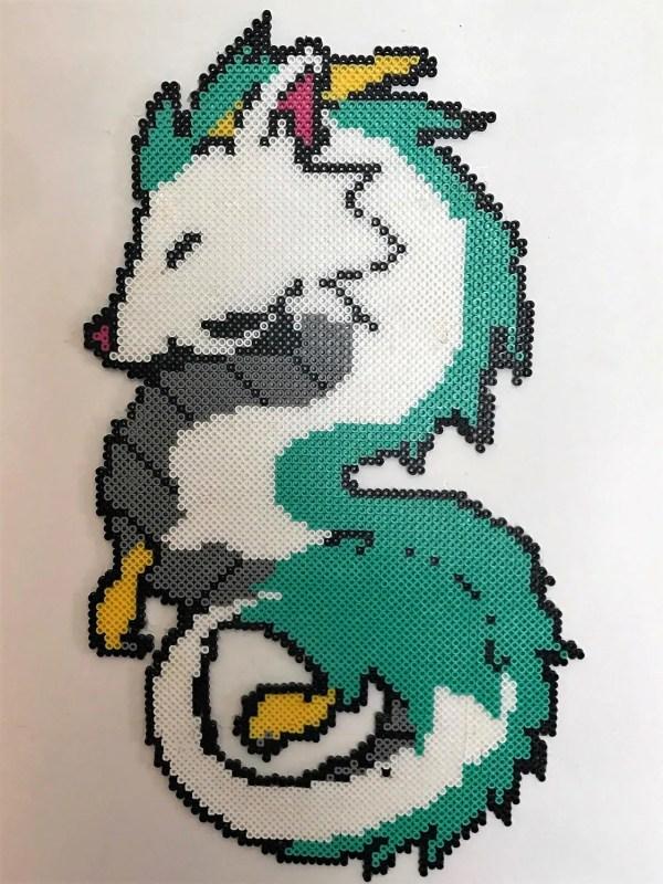 Spirited Perler Bead Art