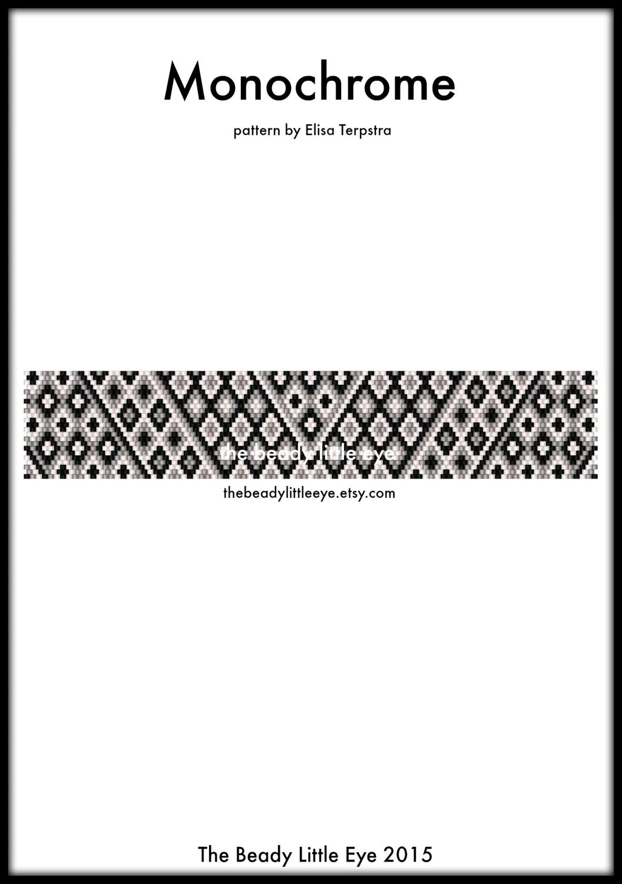 Peyote Patterns Beading Patterns Peyote Pattern Bracelet