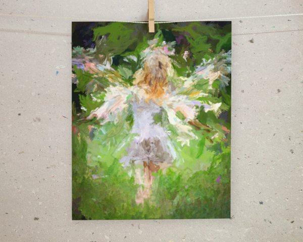 Fairy Garden Art Printable Wall