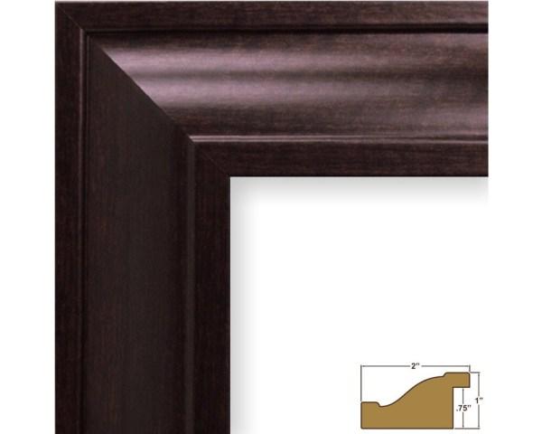 Craig Frames 11x17 Brazilian Walnut Frame Contemporary Upscale 2- Wide