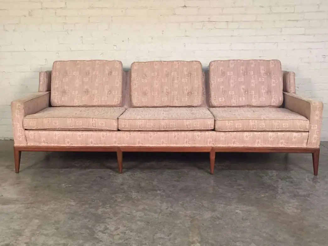 hickory chair co cheap rental covers mid century modern sofa couch by company