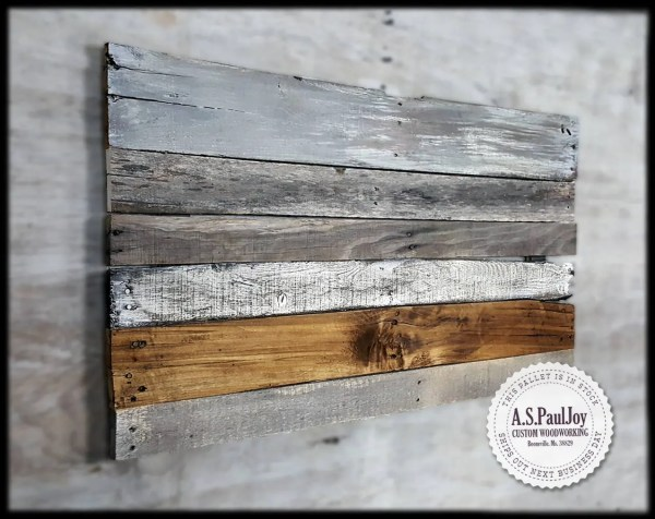 Rustic Pallet Wall Art. Sign. Home Decor