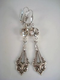 Art Deco Earrings Gatsby Inspired Earrings by ...
