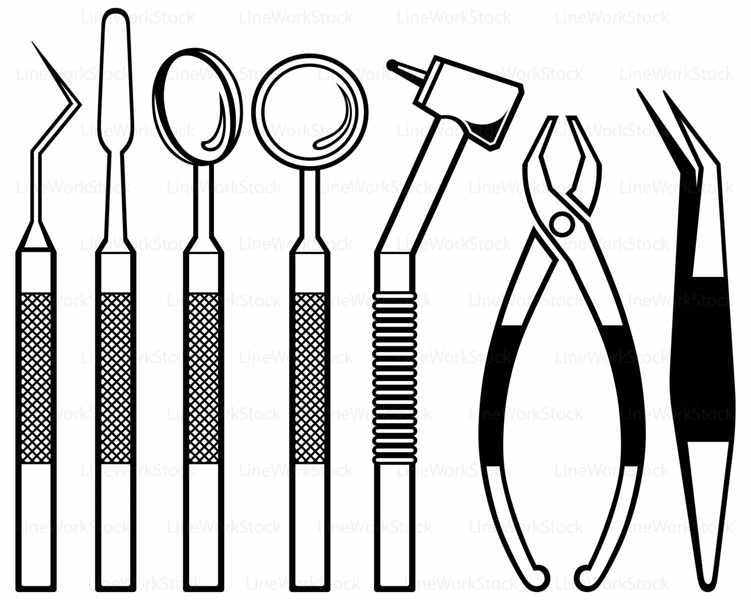 Dental equipment svg/dental clipart/dental svg/dental