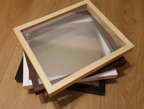 Floating Frame Real Wood Glass Frames