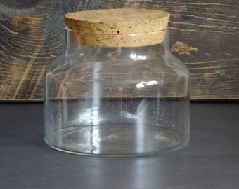 Jars with cork lids  Etsy