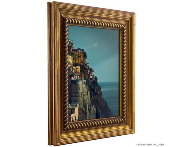 Craig Frames 12x12 Rustic Antique Gold Frame