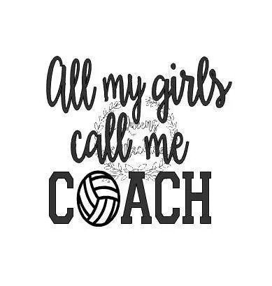 Volleyball coach mom spirit shirt svg automatic download