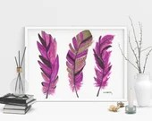 Feather Print - Alcohol I...