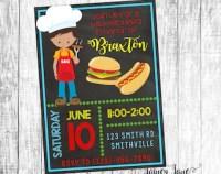 Backyard bbq invite   Etsy