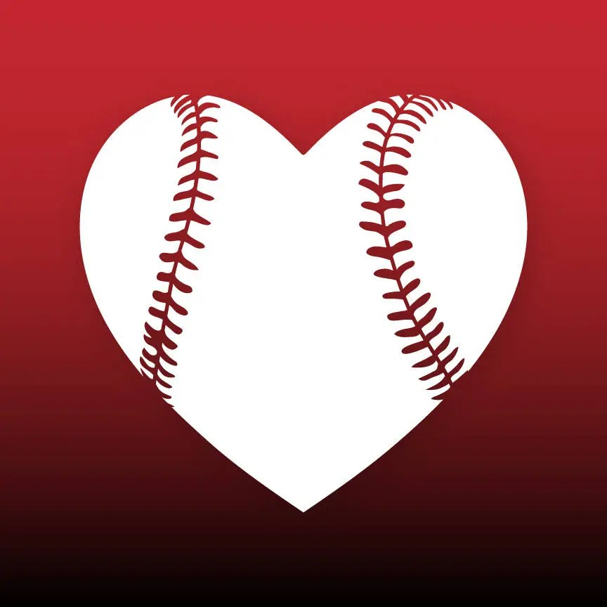 Download Baseball heart svg Baseball love svg Baseball svg files ...