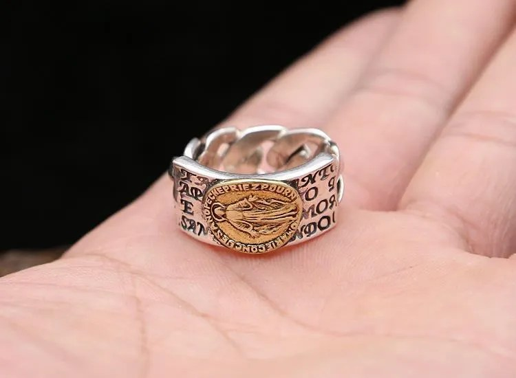 Jesus christ ring  Etsy