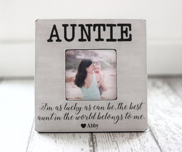 Aunt Auntie Personalized Frame ''