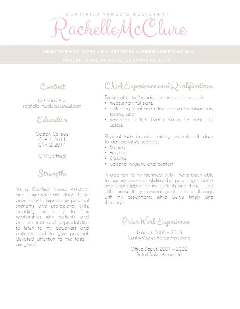 Resume Template no.3 Cover letter Reference page / Free
