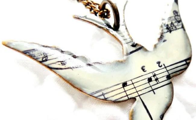 Musicgiftforwomenjewelrygifanduniquenecklacewithsong By