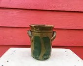 Copper Utensil Crock with...