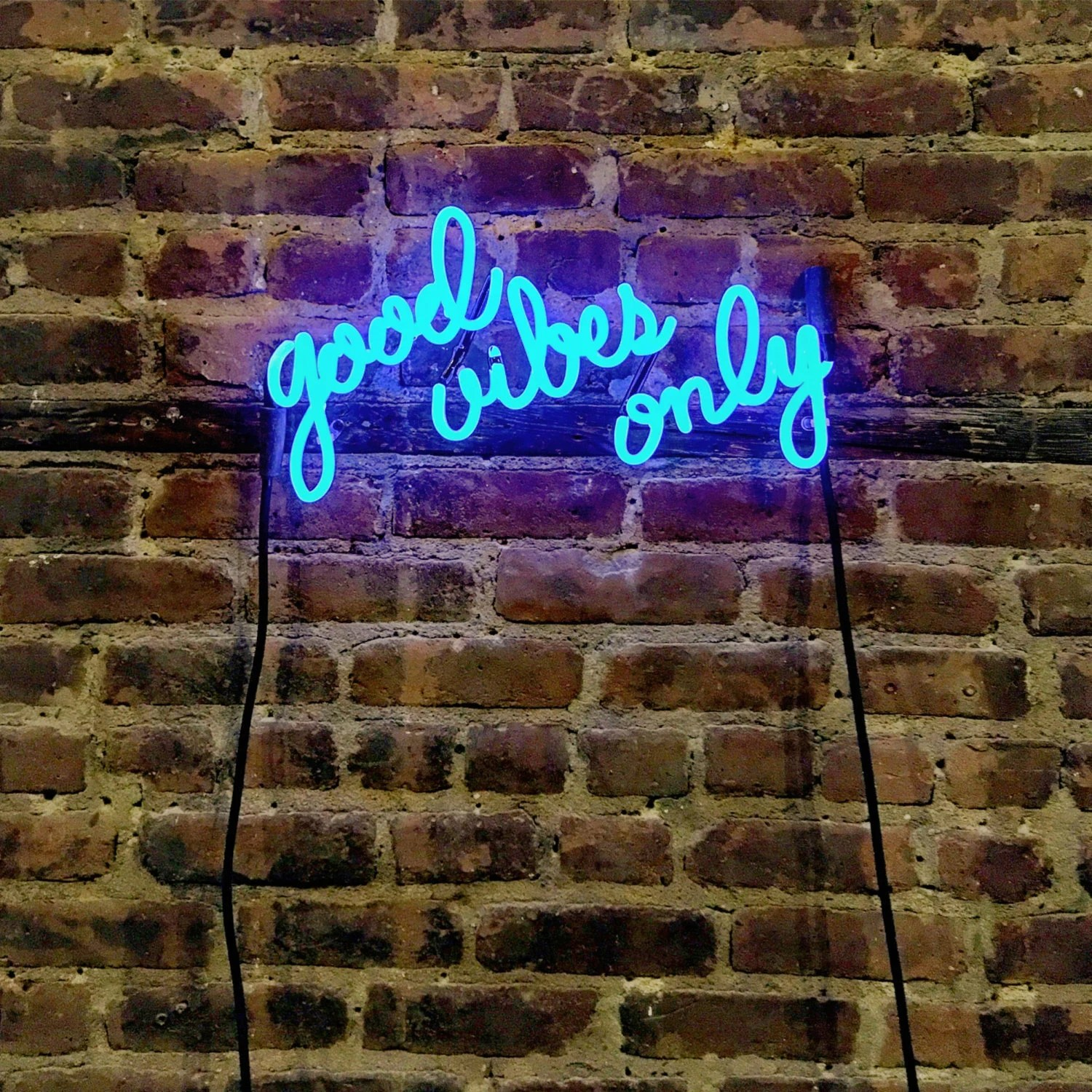 Good Vibes Only Neon Sign ReadyMade by MarcusConradPoston