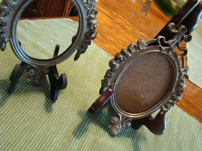 Vintage Frames Vintage Mirror Made In Italy Italian Metal