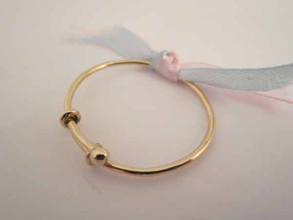 Baby Jewelry Bracelet Babies 14k Gold Bangle