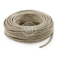Canvas Linen Cloth Covered Wire - Vintage Lamp Cord ...