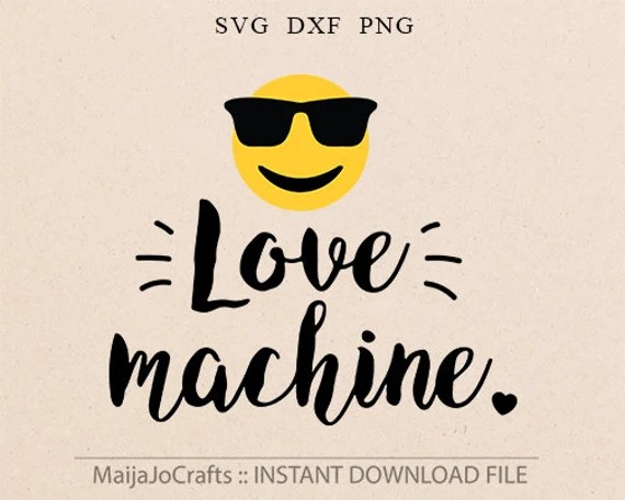Download Emoji Svg Love machine svg Love svg Valentine Svg Files Cricut