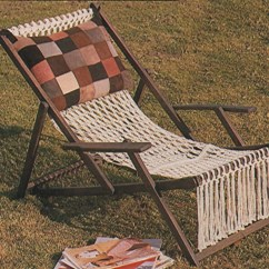 Macrame Lawn Chair Toddler Table And Chairs Ikea Deckchair Cover Pdf Pattern Deck