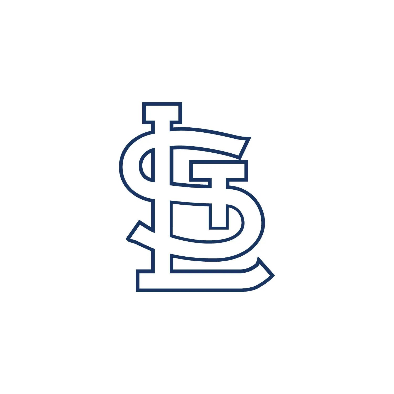 St Louis Cardinals Svg Etsy