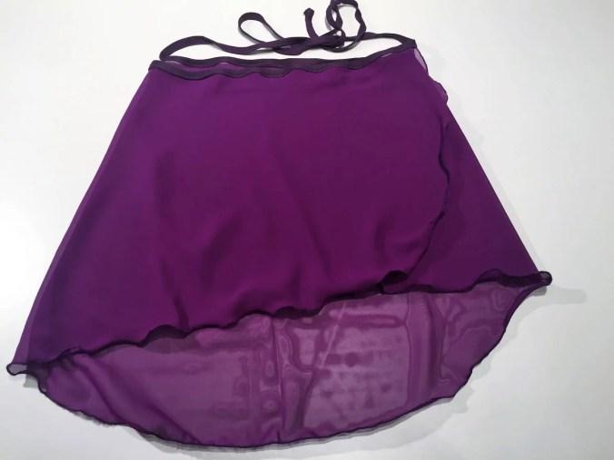 Purple ballet skirt, uni,...