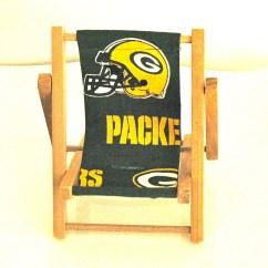 Green Bay Packers Chair Aluminum Rocking Folding Nfl Team Logo Cell Phone Mamakohawaii