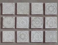 Garden decor outdoor wall art and ceramic tiles. by GVEGA ...