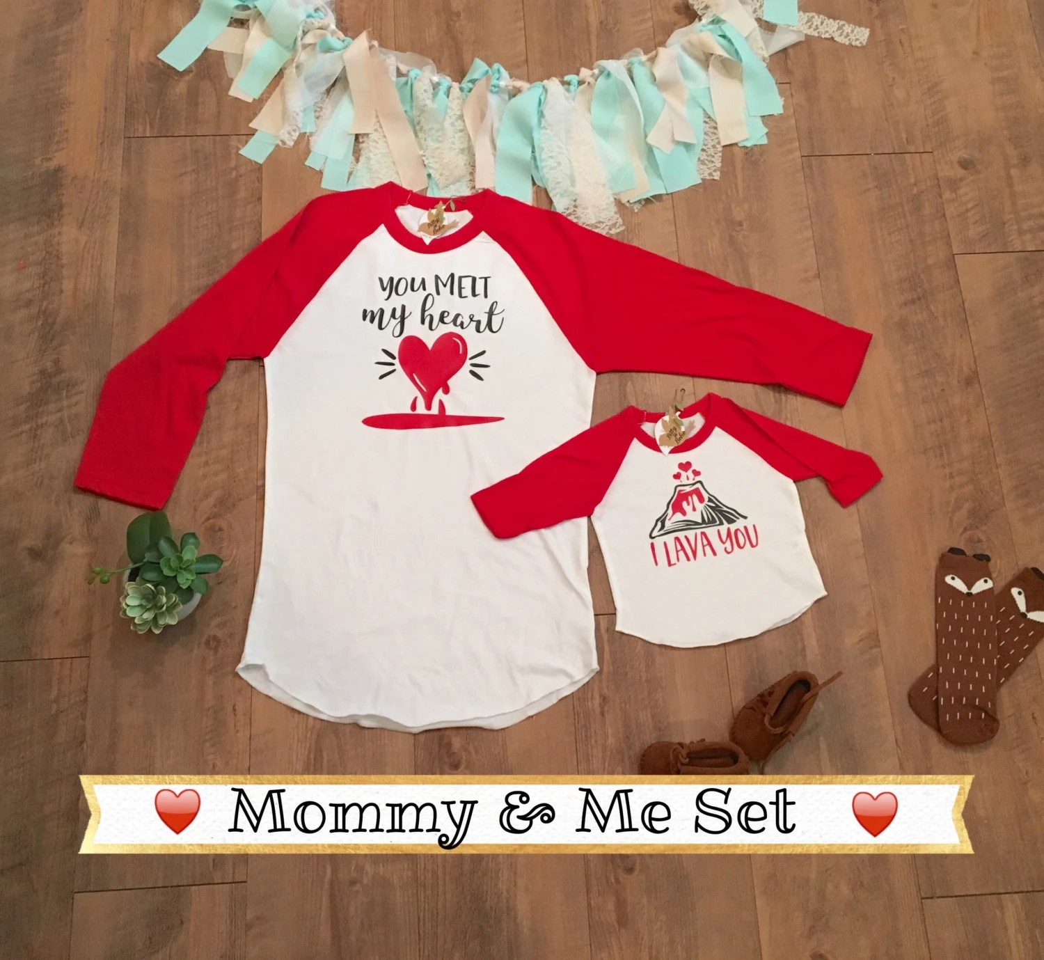 Mommy And Me Outfits Mommy And Me Shirts Valentine Shirt