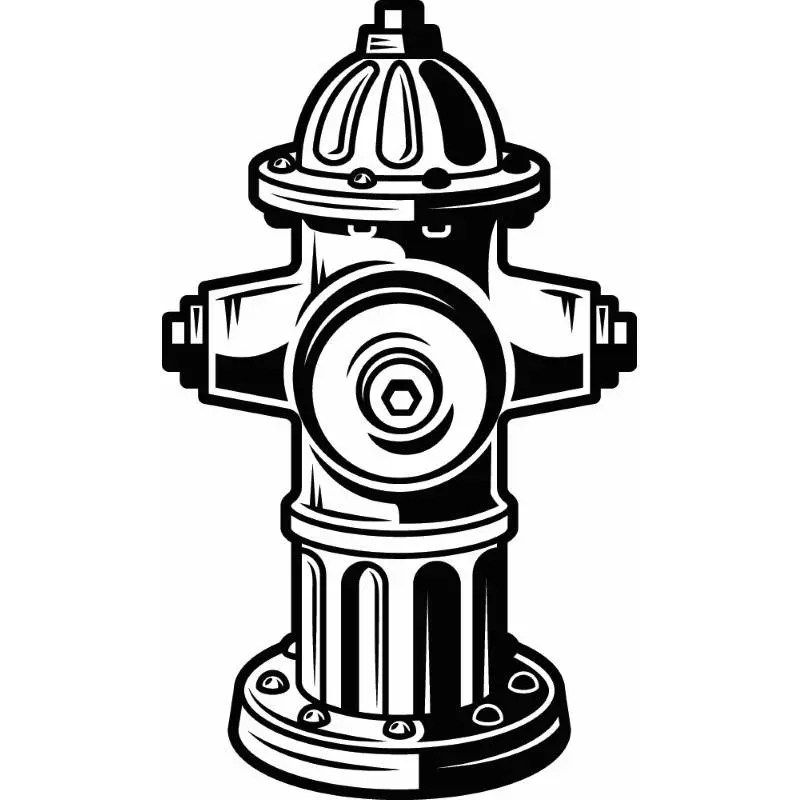 Firefighter Hydrant #1 Firefighting Rescue Fireman
