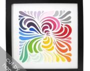 swirl cut design