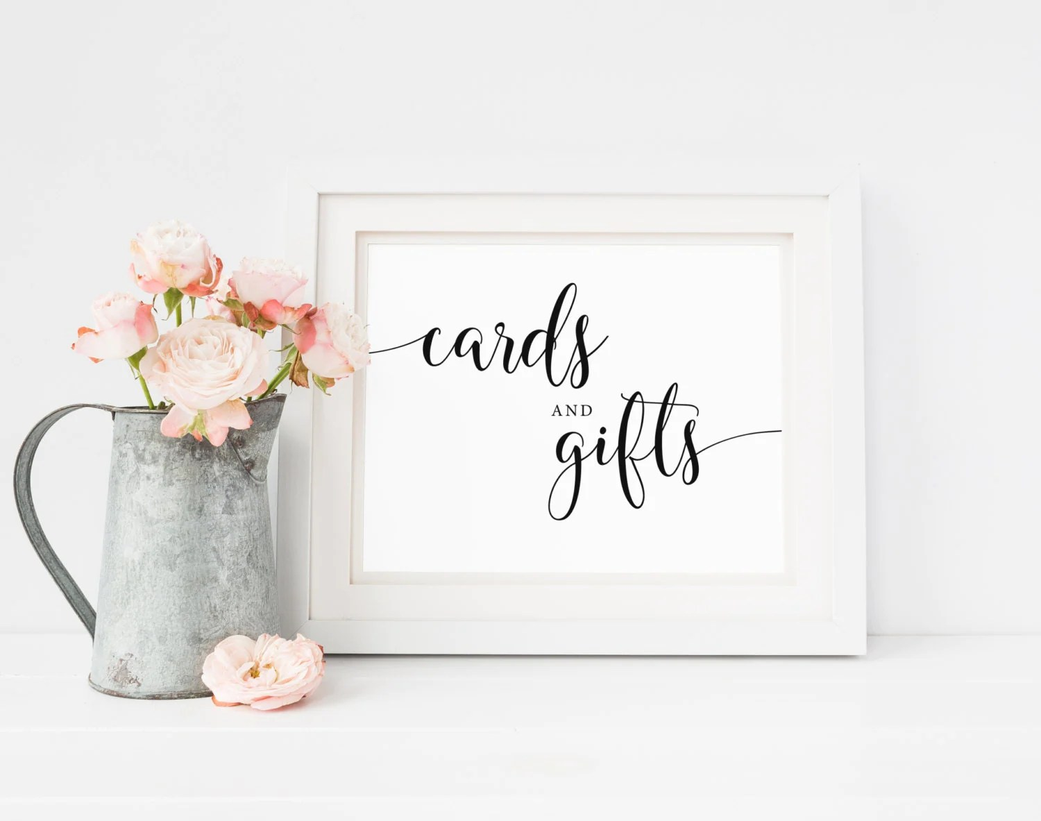 Cards and Gifts Sign Printable Wedding Signs Wedding
