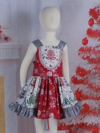 Girls Christmas Dress Toddler Outfit Teen Holiday Dress