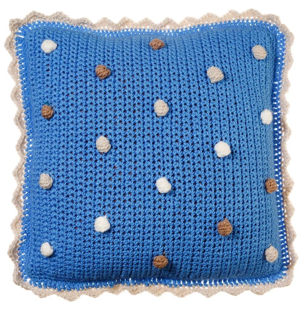 Bauble Crochet Pillow, cr...