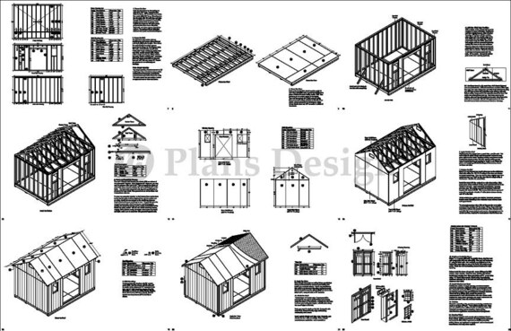 Garden Shed Instructions Step By Step