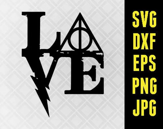 Download Harry Potter SVG Iron On Decal Cutting File / Clipart in Svg