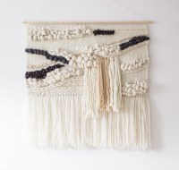 Extra large woven wall hanging Woven wall art tapestry