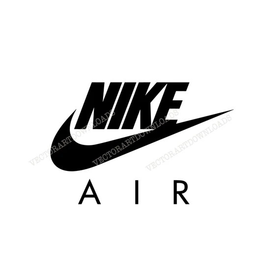 Download Nike Air Logo Inspired Vector Art, svg dxf fxg eps pdf ai ...