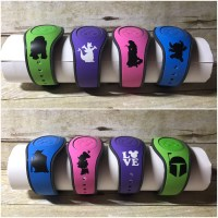 Disney Magic Band 2.0 Decal Stickers Decals 1