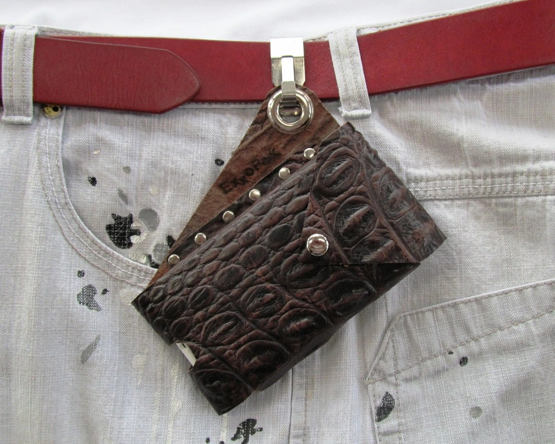 Leather Cell Phone Pouch,...