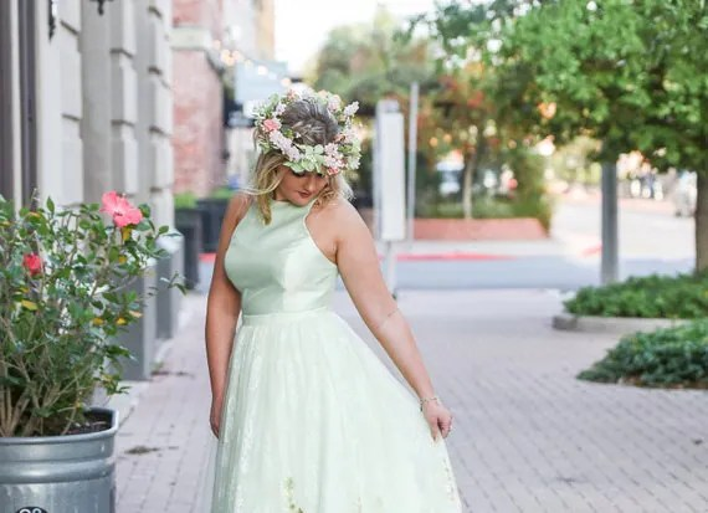WEDDING FLOWER CROWN Bridal Halo Headband Full Floral