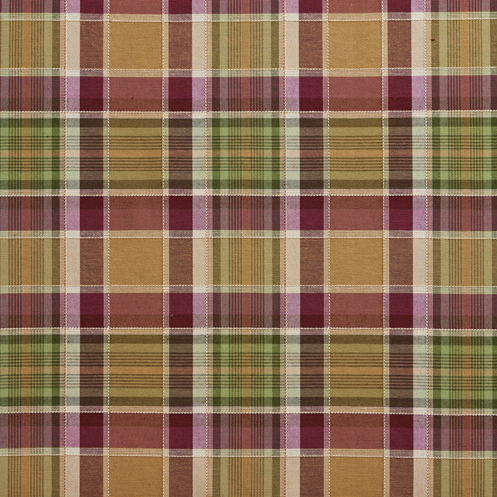 100 Cotton Rose And Cream Country Plaid Home Decor Fabric From