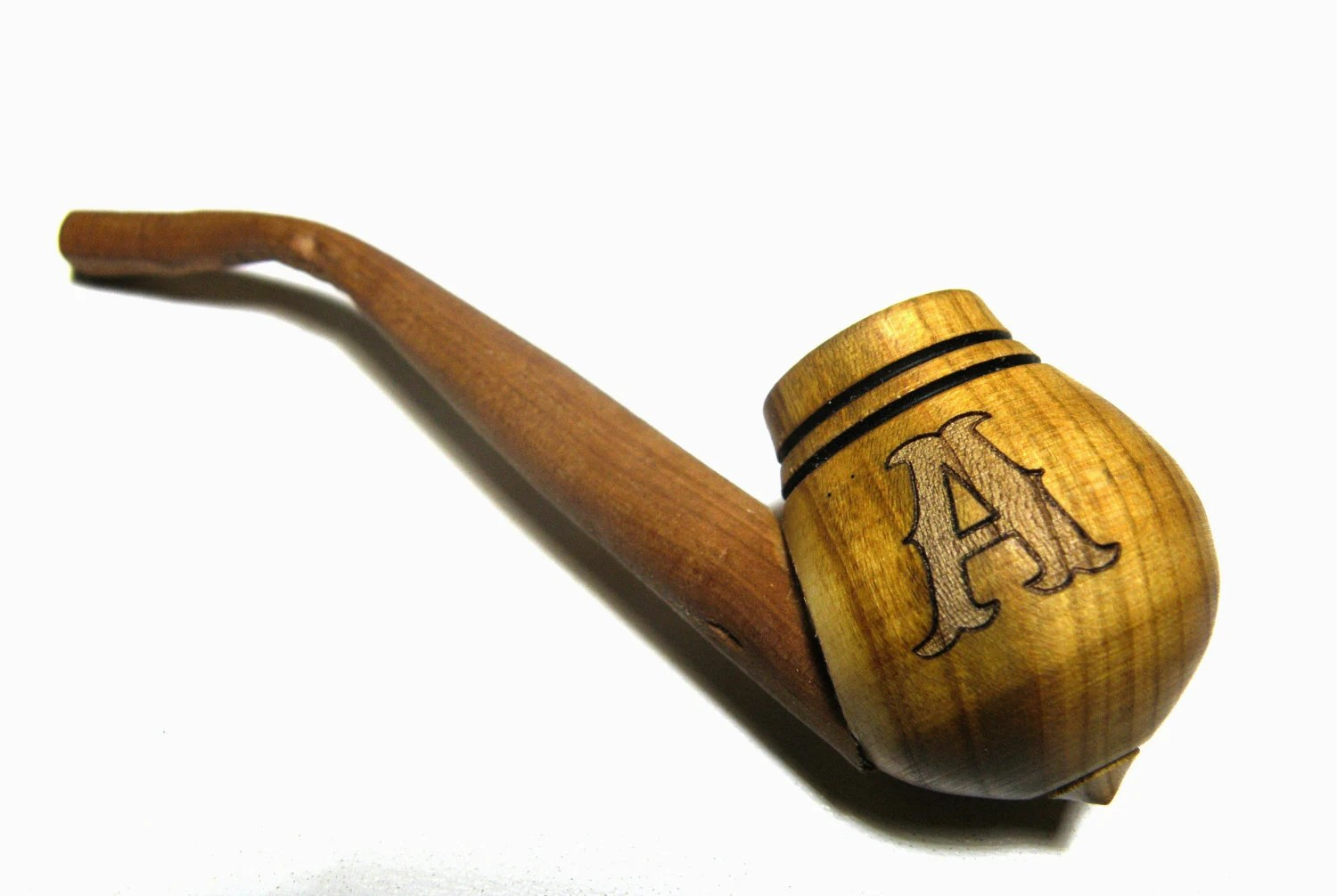 Personalized Engraved Wooden Pipe Tobacco pipes Smoking pipe